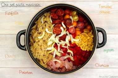 One pot pasta mexicain