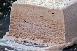 Semifreddo noix de coco et cacao