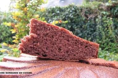 Gâteau à la crème de marrons et chocolat