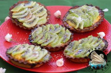 Tartelettes kiwis et noix de coco