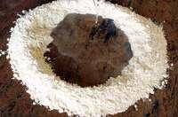 La détrempe de feuilletage au coupe pâte