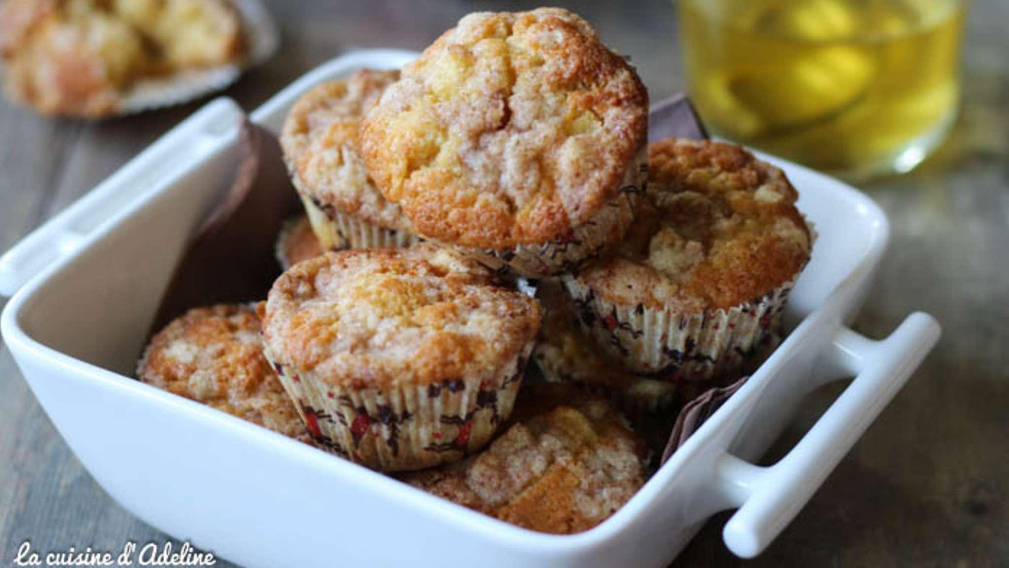 Muffins Aux Pommes Et Streusel La Cuisine D Adeline Recette