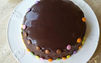 Idees De Recettes A Base De Nappage Chocolat Et De Rainbow Cake