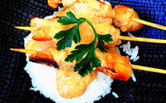 Idees De Recettes A Base De Brochette Et De Cuisine Asiatique