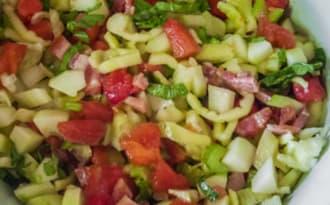 Idees De Recettes A Base De Salade Composee Et De Poivrons