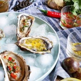 Un réveillon de fruits de mer