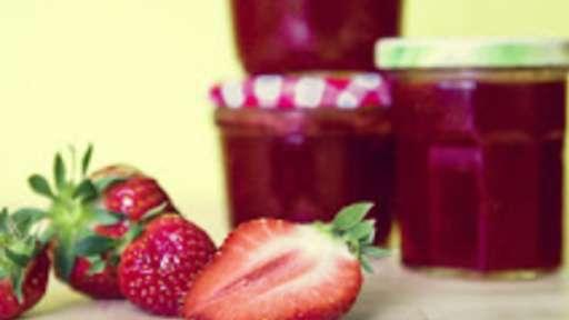confiture de fraise facon grand-mere