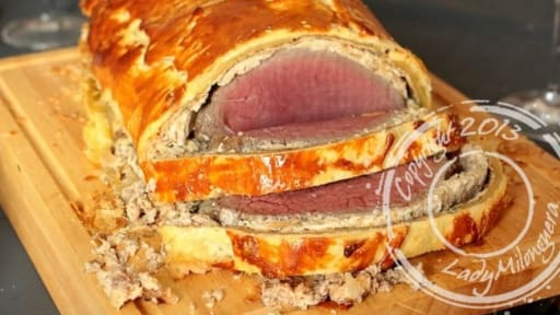 Filet De Boeuf En Croute Au Madere Ou Filet De Boeuf Wellington