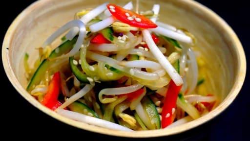 Salade Concombre Soja Poivron A La Japonaise Recette Par Le Yin