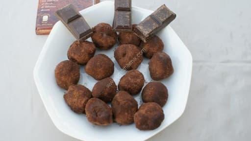 Truffes Au Chocolat Au Thermomix Facile Et Rapide Recette Par