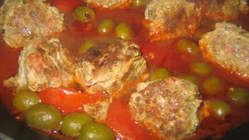 Kefta De Boeuf Aux Olives Coulis De Tomates Recette Par Emma
