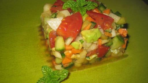 Salade Composee De Legumes Rapide Et Facile Recette Par Emma