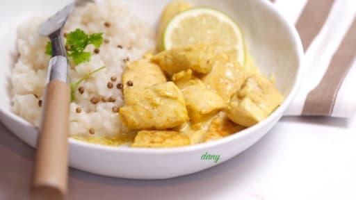 Filet De Poulet Au Curry Et Citron Vert Recette Par Epicetout