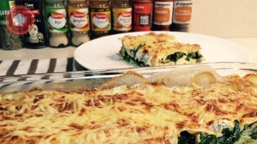 Lasagnes Fraiches Au Saumon Et Epinards Frais Recette Par Les