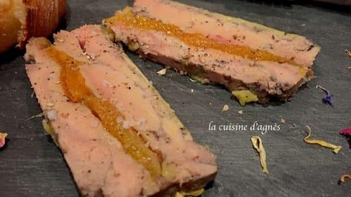Foie Gras Aux Abricots Cuit Au Micro Ondes Recette Par La Cuisine