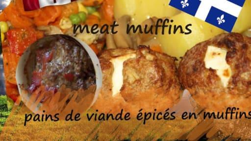 Muffins Pains De Viande Fourres Au Fromage