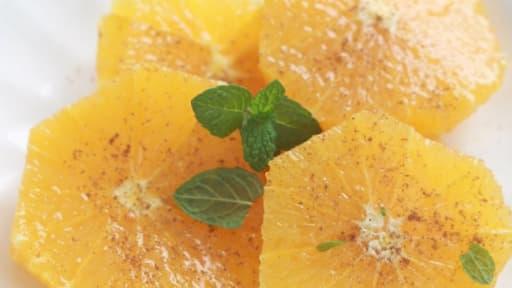 Salade D Oranges Parfumee A L Eau De Fleur D Oranger Et Cannelle