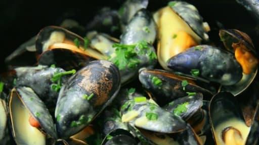 moules marinières recettes