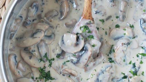 Sauce Aux Champignons Pour Viandes Poulet Pates Recette Par