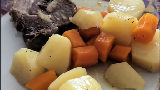Roti Echine De Porc Et Ses Legumes Au Cookeo Recette Par Ma