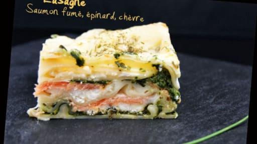 Lasagne Saumon Fume Epinards Et Chevre Recette Par Tchoup Cooking