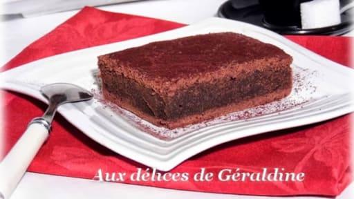 Brownies Au Chocolat Et A La Creme De Marron Recette Par Aux