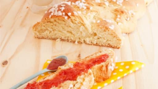 Brioche Tressee A La Fleur D Oranger Recette Par Stella Cuisine
