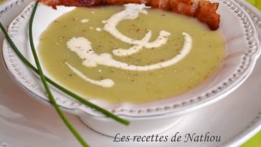 Soupe De Feuilles De Chou Fleur Recette Par Ma Cuisine Au Fil De