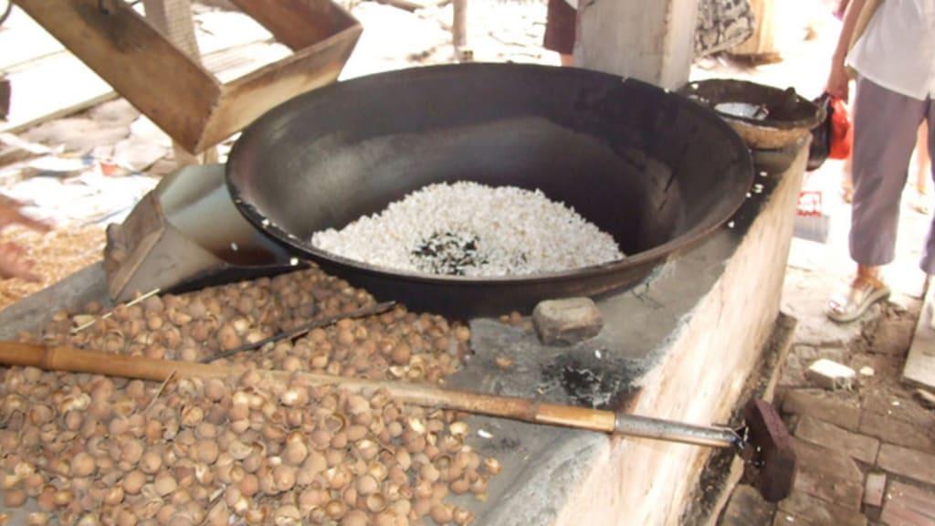 recette riz soufflé chocolat blanc