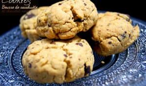 Cookies beurre de cacahuète et chocolat noir