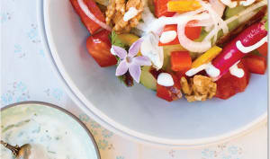 Salade persane au citron