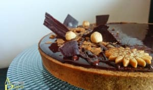 Tarte chocolat tonka