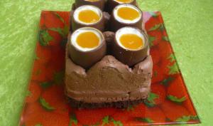 Cheesecake « boite à œufs » de Pâques