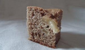 Gateau à la farine de sarrasin et aux poires