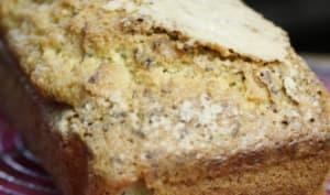 Cake à la lavande, eau de fleur d'oranger et huile d'olive