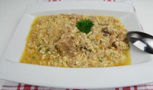 Sauce pistache au Gombo