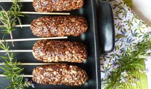 Kebab de granola