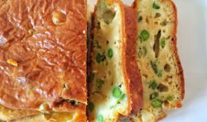 Cake ricotta légumes verts