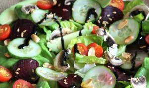 Salade composée du Printemps