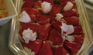 Pimientos del Piquillo farcis au fromage frais