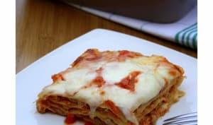 Lasagnes au thon et tomates