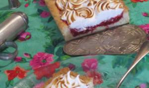 Complètement fruitée et meringuée la tarte