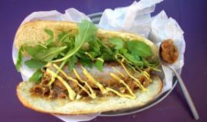 Frenchy hot dog à l'andouillette