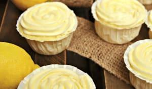 Cupcakes citron Limoncello