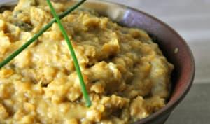 Curry de lentilles corail vegan