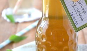 Sirop de sauge ananas