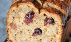 Cake banane cranberry vegan