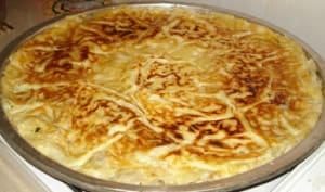 Borek au fromage de brebis, comme un millefeuille