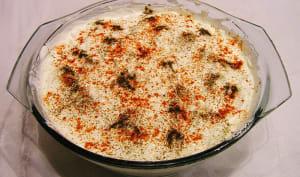 Sauce aux noix, ail, épices: la bazhe géorgienne