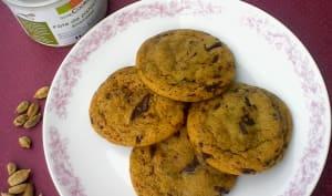 Cookies pistache cardamome et chocolat
